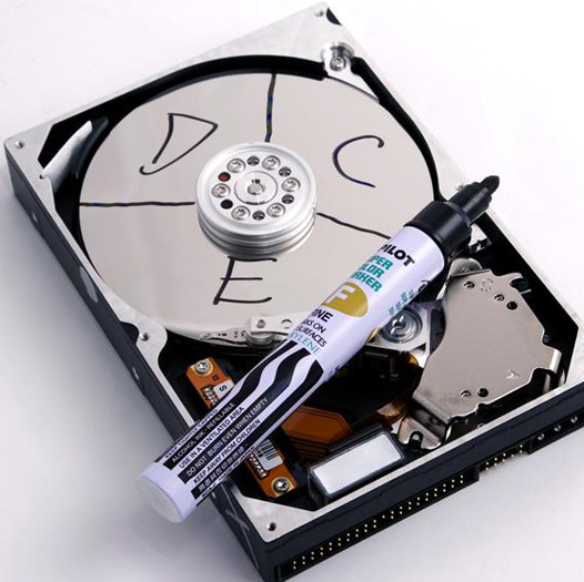 Partitioning Hard Drive